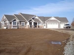 New Home Construction Exteriors